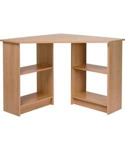 malibu corner desk beech for the home pinterest. Black Bedroom Furniture Sets. Home Design Ideas