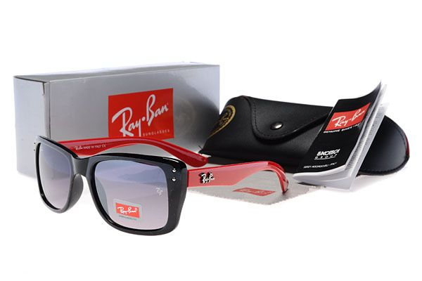 Ray Ban Red And Black Wayfarers
