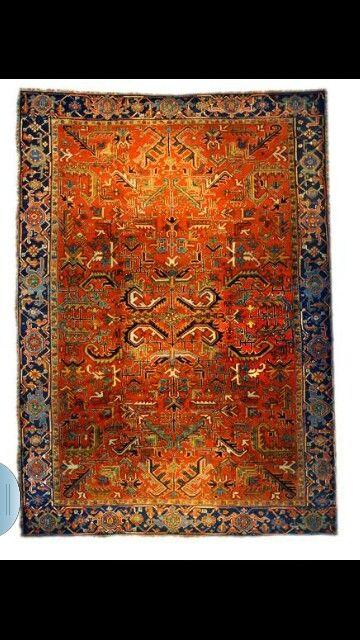 Tapis persan ancien tapisseries et tapis pinterest - Tapis florence bourel ...