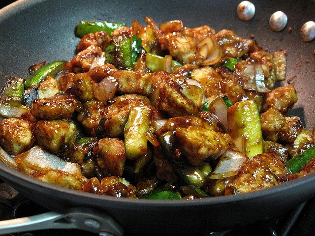 Chinese Chicken with Black Pepper Sauce   Food: Chinese   Pinterest