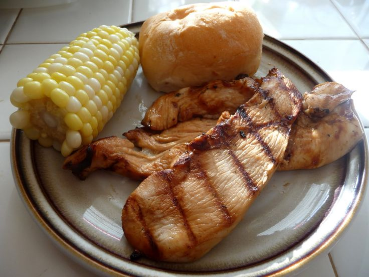 Honey Lime Grilled Chicken -- This photo doesn't do it justice and I ...