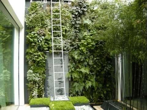 vertical garden images.  great video