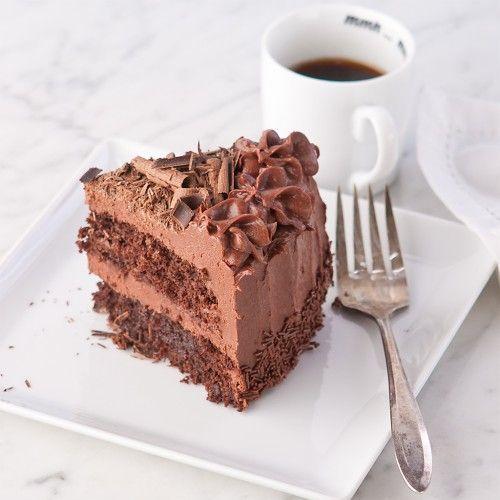 Chocolate Marshmallow Layer Cake | Foooooood | Pinterest