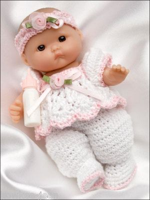 CROCHET PATTERNS FOR BITTY BABY CLOTHES | Original Patterns