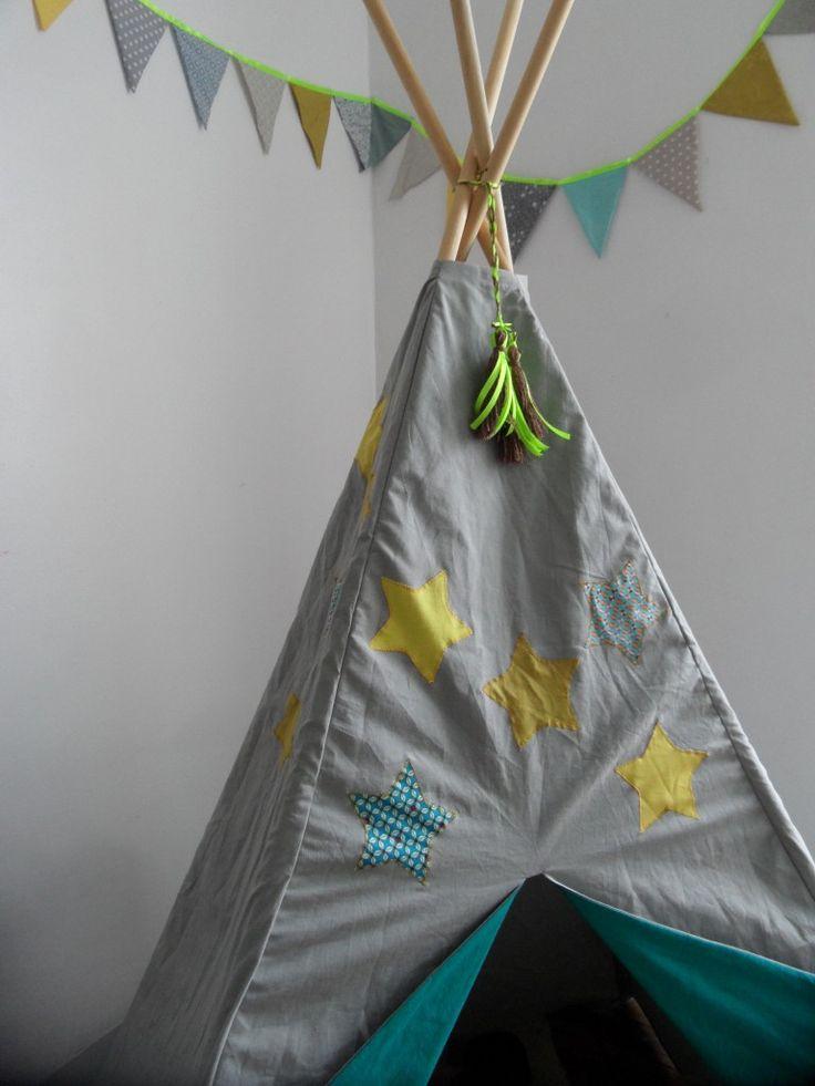 cabane enfant tissu d co enfant pinterest. Black Bedroom Furniture Sets. Home Design Ideas