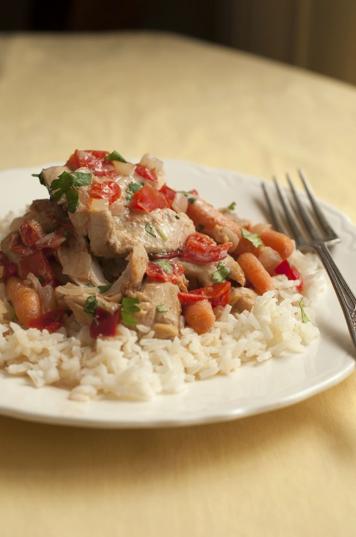 Chicken coconut curry. Chop all the ingredients, freeze, then pull out ...