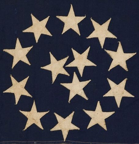 flag with stars in a circle