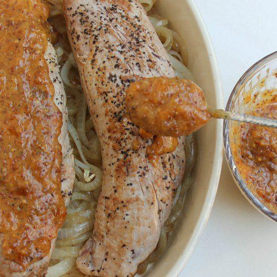 Apricot glazed pork tenderloin | Warm and Cozy Yummy Dishes | Pintere ...