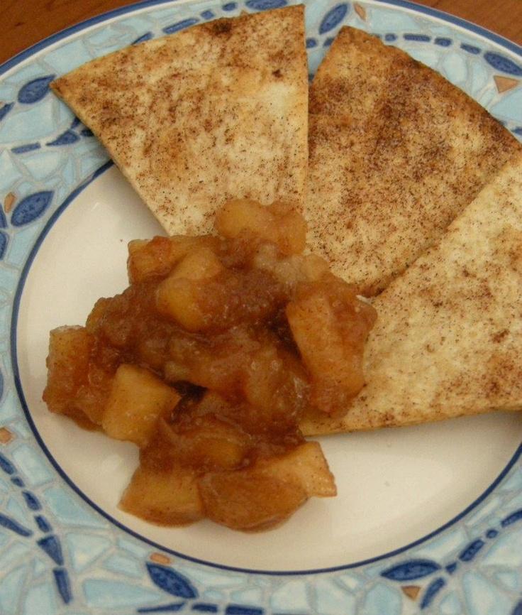 Jolene's Recipe Journal: Apple Pie Dip and Cinnamon Sugar Chips