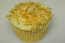 Pineapple Bliss Cupcakes- love these! Only 74 calories!!!
