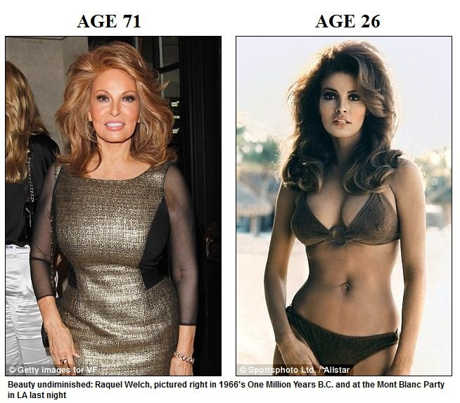 Raquel Welch    Then  Now  amp  Forever  Raquel Welch Now And Then