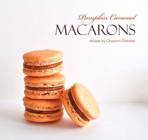Pumpkin French Macarons | French Macarons ::swoon:: | Pinterest
