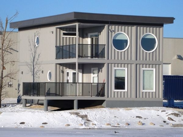 Custom Container House On Behance Shipping Containers By