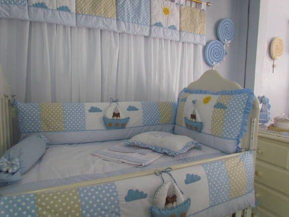 Kit Berço para decorar quarto de bebê58
