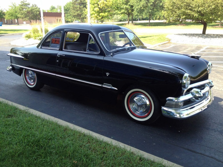 1951 ford other 2 door coupe ford pinterest for 1951 ford 2 door sedan