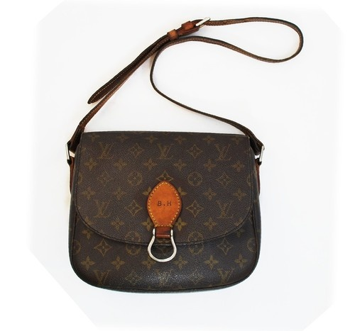 Rare Authentic Made in France Early Louis Vuitton Monogram St Cloud  - 500 x 467  47kb  jpg
