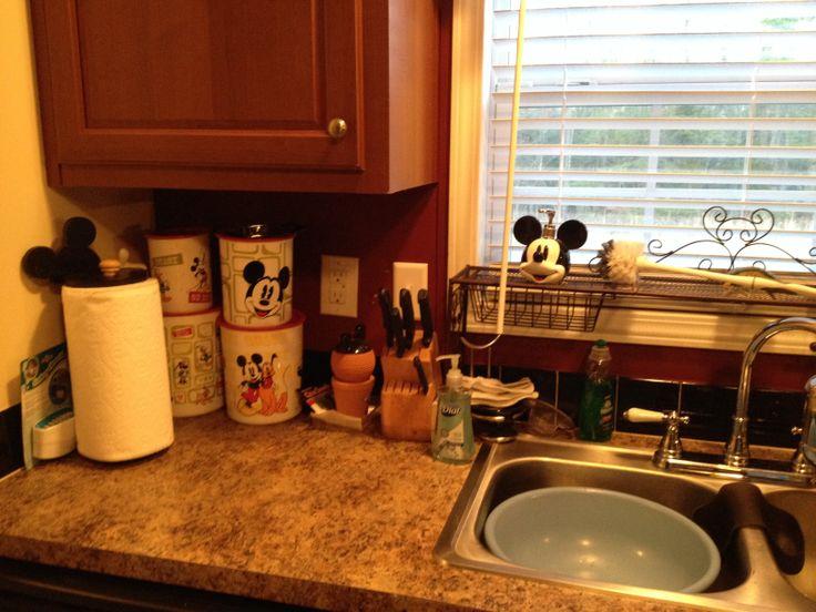 Mickeys Kitchen Mickey Mouse Kitchen Pinterest