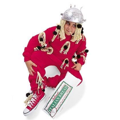 Diy boys halloween costumes diy spaghetti amp meatballs costume