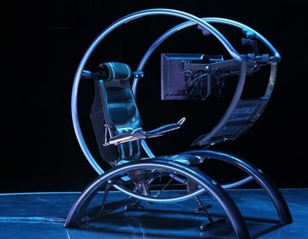 Futuristic Gaming Chair Wow Pinterest