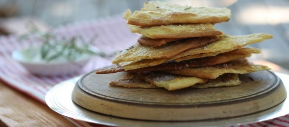 Crisp Rosemary Flatbread | breads, etc. | Pinterest