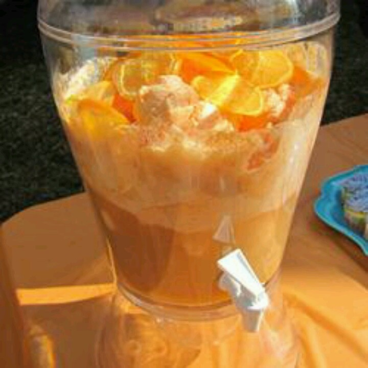 Dreamy Orange Sherbet Punch Recipes — Dishmaps