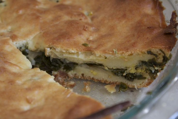 Kale and Onion Pie! | Breakfast!! | Pinterest