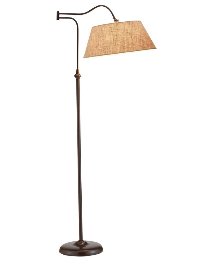 Adesso rodeo floor lamp for Macy s torchiere floor lamp