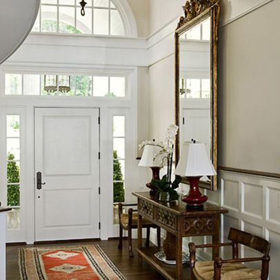 Pin by bee cee on foyers landings stairs pinterest for 2 story foyer decorating pictures