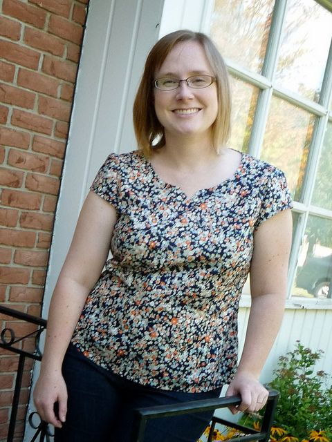 Alma Blouse Pattern Uk 5