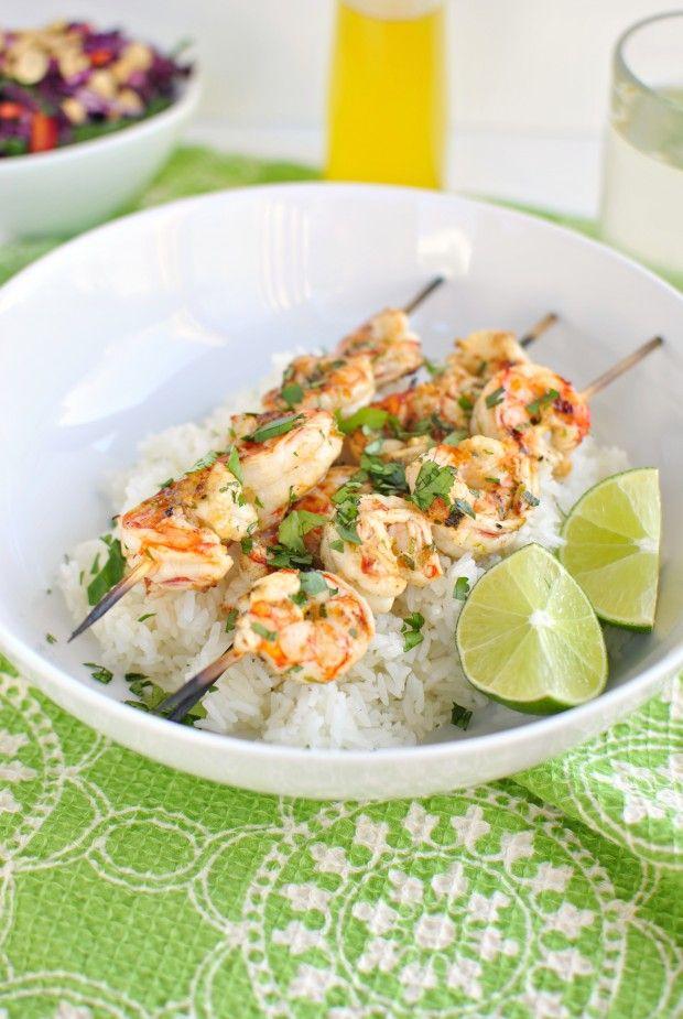 Grilled Garlic Lime Shrimp | Cuisine | Pinterest