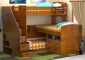 Dayton Triple Decker Twin Stairway Bed Wish List