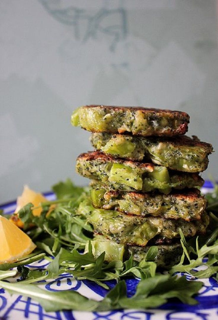 Broccoli Parmesan Fritters | Favorite Recipes | Pinterest