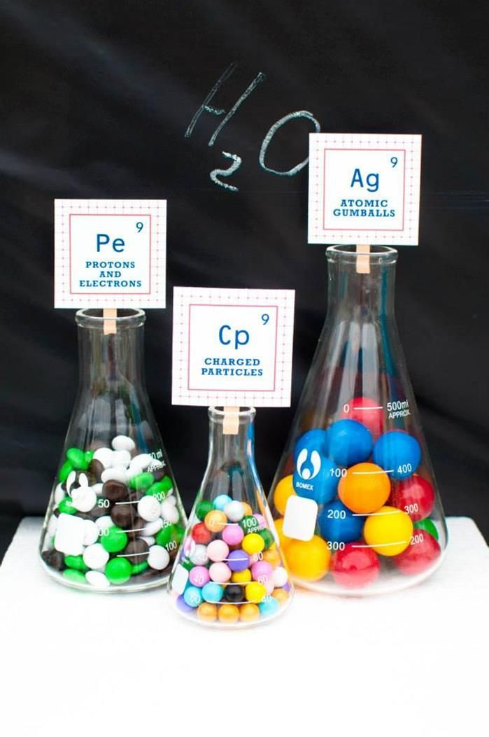 Science Themed Birthday Party {Ideas, Supplies, Decor}