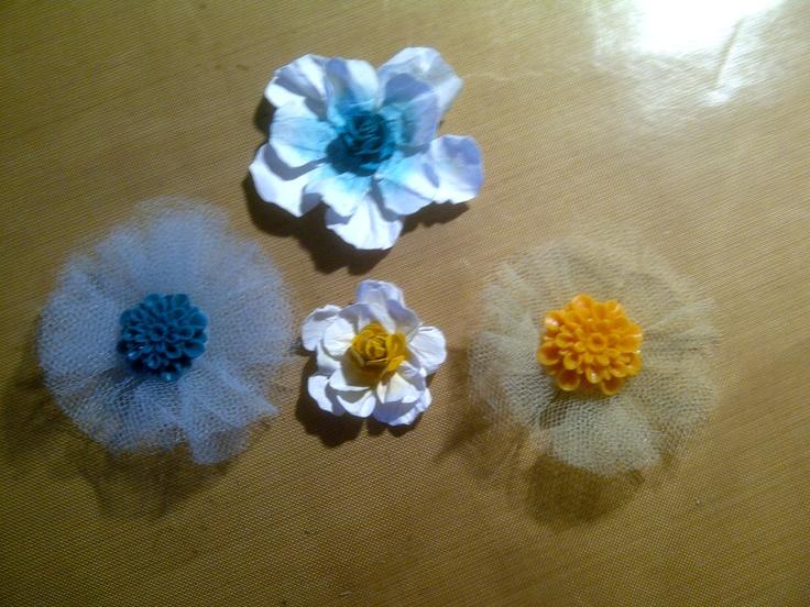 Easy handmade paper and tutu flowers scrapbook cards - Simple handmade paper flowers ...