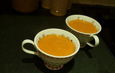 Autumn Soup [butternut squash, sweet potato, roasted red pepper]