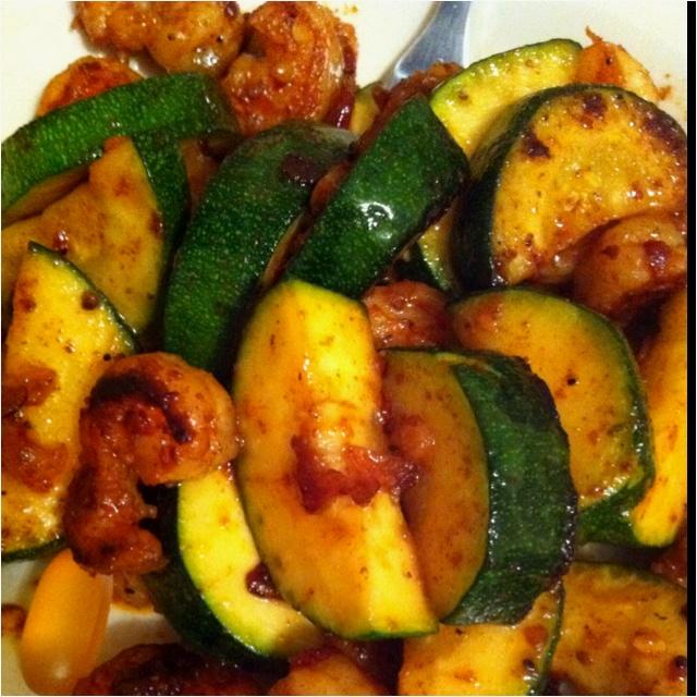 Garlic shrimp and cucumber, yummmmmmm | yummy food | Pinterest