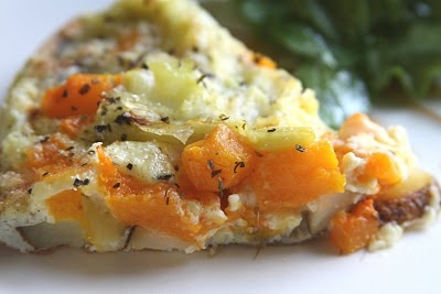 ShowFood Chef: Butternut Squash, Leek & Potato FRITTATA (or should I ...