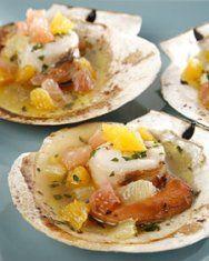 Grilled Scallops Wrapped in Prosciutto | Recipe