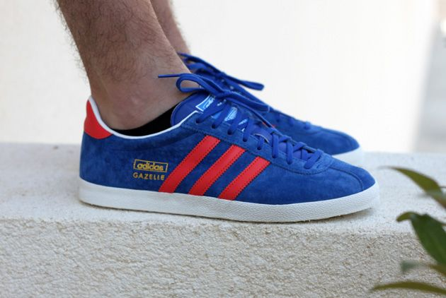 Adidas Gazelle Og W Light Maroon Solar Yellow