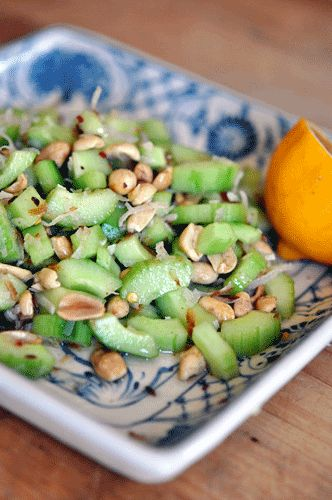 Peanut cucumber salad | In the kitchen | Pinterest