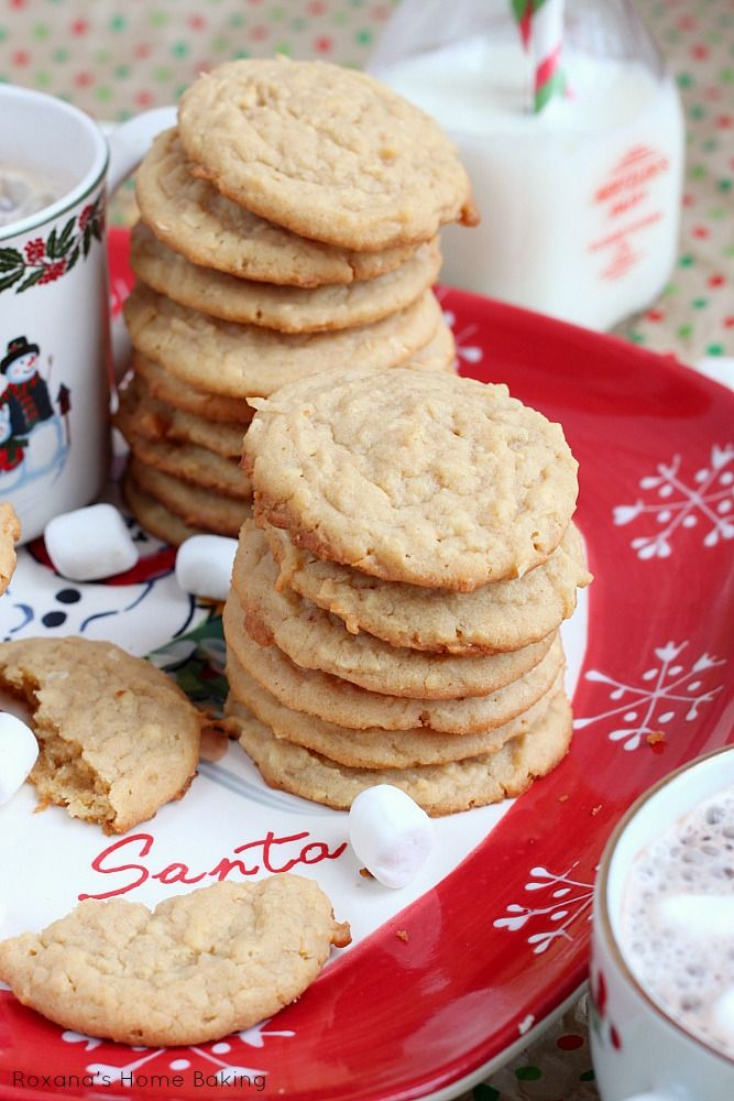 Chewy coconut peanut butter cookies | Christmas Best Cookie Recipe Sh ...