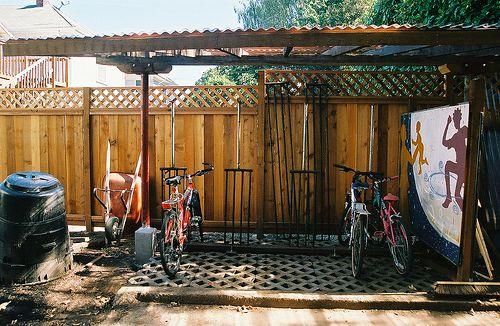 Viewalongtheway Backyard : backyard bike rack  Google Search  Other Home Stuff  Pinterest