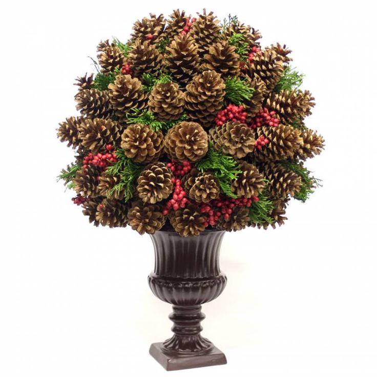 Pine Cone Centerpiece Christmas Pinterest