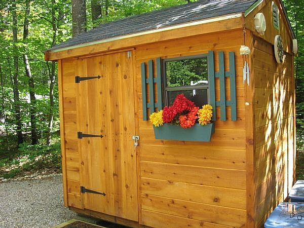 How to organize a storage shed for Garden shed organisation