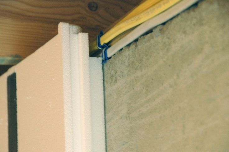 close up shot of a habitat for humanity basement insofast insulation