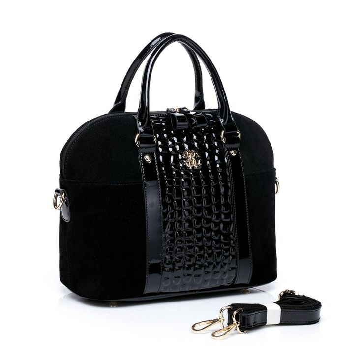 Andrea Satchel in Black on Black