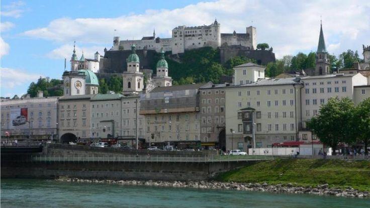 Крепость хоэнзальцбург зальцбург