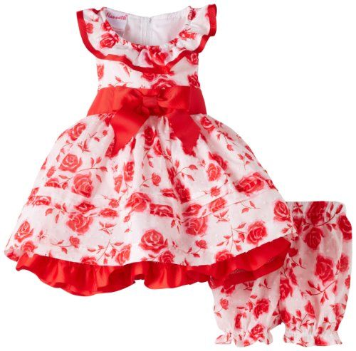 Children s apparel network baby girls infant 2 piece woven dress and