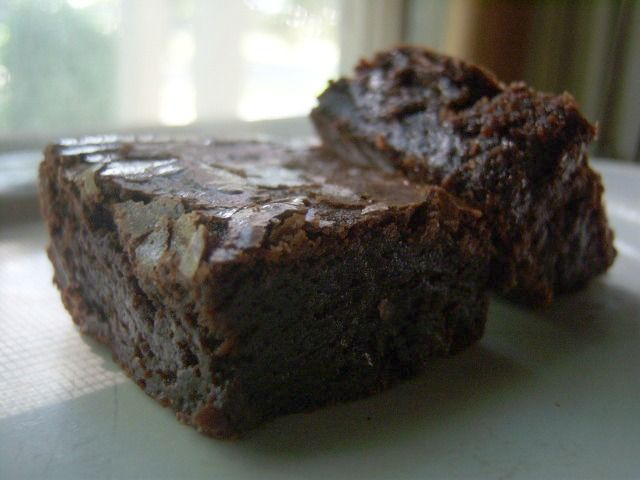like I need another brownie recipe - perfect brownies