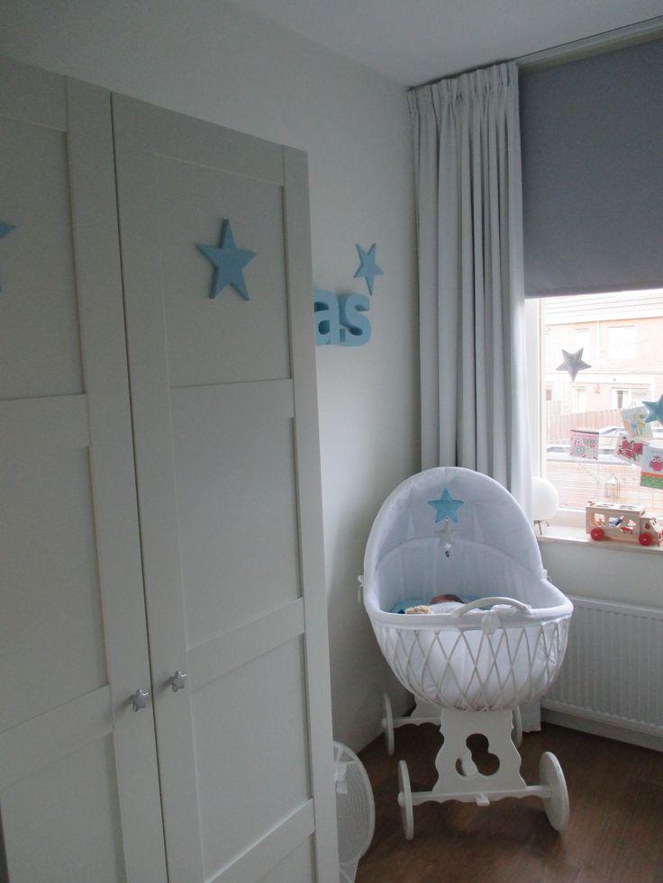 Babykamer jongen ster joas 39 kamer pinterest - Jongen babykamer ...